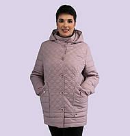 b9ebe5dc840 Женская демисезонная куртка. Модель 159. Размеры 54-60