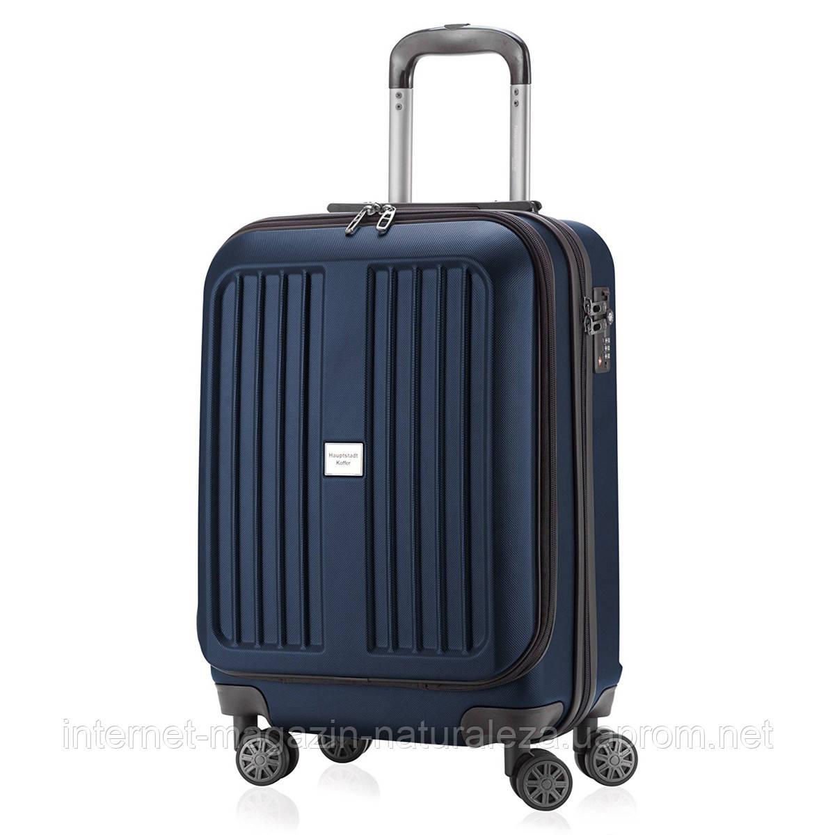 Валізу на коліщатках Hauptstadtkoffer Xberg Mini темно-синій матовий
