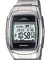 Мужские наручные часы Casio db-e30d-1avef серебристые на солнечной батарее, фото 1