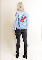 Батистовая женская вышитая блузка Жар-птица