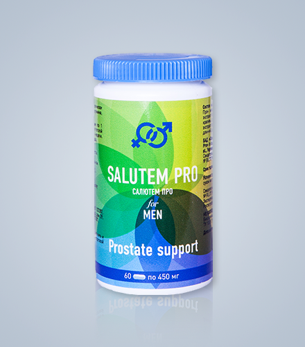 Salutem Pro (Салютем Про) - капсулы для потенции. Цена производителя. Фирменный магазин.