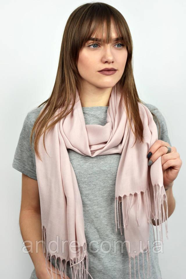 Турецкий шарф пашмина, пудра