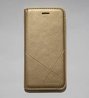 Чехол-книжка для смартфона Samsung J5 Prime G570F золотая