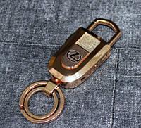 Электроимпульсная USB зажигалка L Gold