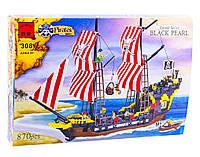 """Конструктор Brick 308 """"Пиратский корабль с пиратами"""", 870 деталей, фото 1"""