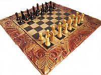 Шахматы-нарды резные