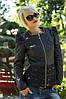Женская куртка с гипюром ск427
