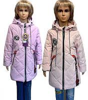 Курточка украшена качественными и модными деталям