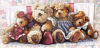 Набор для вышивания Медвежья семья