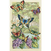 Набор для вышивания  Бабочки