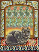 Набор для вышивания  Кот в окне