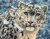 Набор для вышивания  Snow Leopard