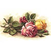 Набор для вышивания  Срезанные розы