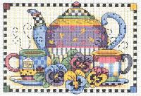 Набор для вышивания Чаепитие