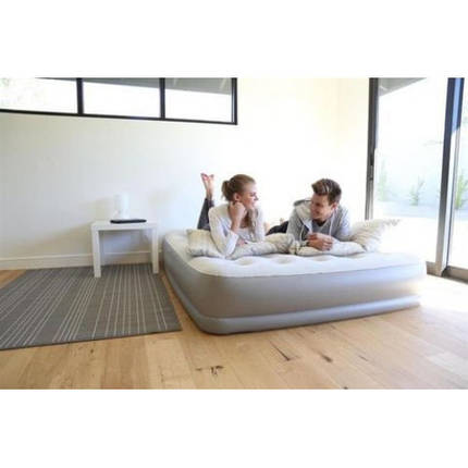 Надувная кровать Bestway 67459 (203х152х38 см.) - электронасос, фото 2
