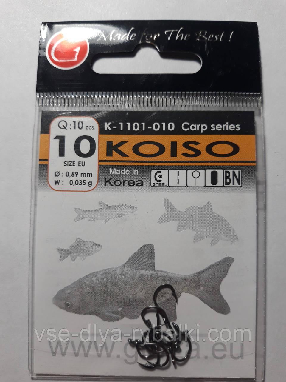 Крючки Gurza koiso № 10