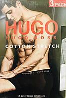 Набор мужских трусов HUGO BOSS 3шт размер XL(52) ассорти