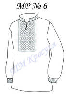 Заготовка на вышивку мужской рубашки №6, фото 1