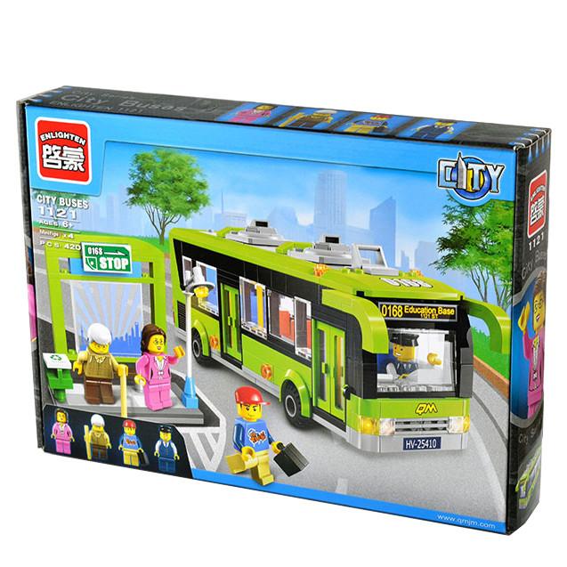 """Конструктор Brick Enlighten 1121  """"Остановка"""", 420 дет"""