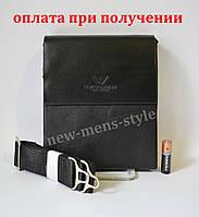 55d68541458b Мужская кожаная фирменная сумка барсетка Giorgio Armani Polo купить