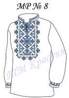 Заготовка на вышивку мужской рубашки №8, фото 1
