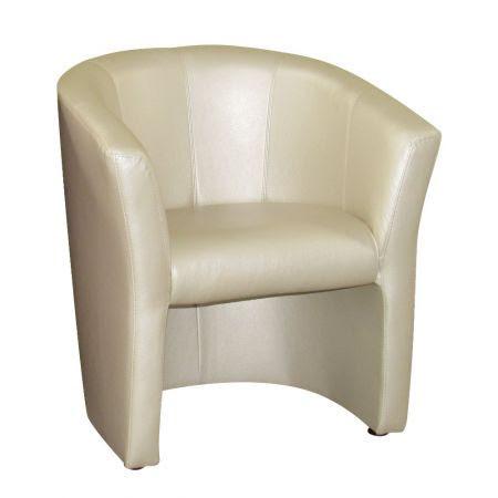 Кресло Cooper (кожзам белый)