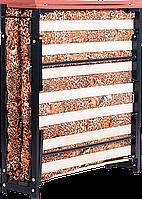 Раскладушка кровать туристическая кровать каркасная с ламелями и ограничителями поролоновым матрасом Лежак