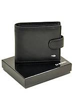 Мужской кожаный кошелек с зажимом для банкнот Dr. Bond Classik