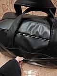 Дорожная спортивная сумка TOMMY  кожаный pu стильный только ОПТ Спортивная сумка, фото 6