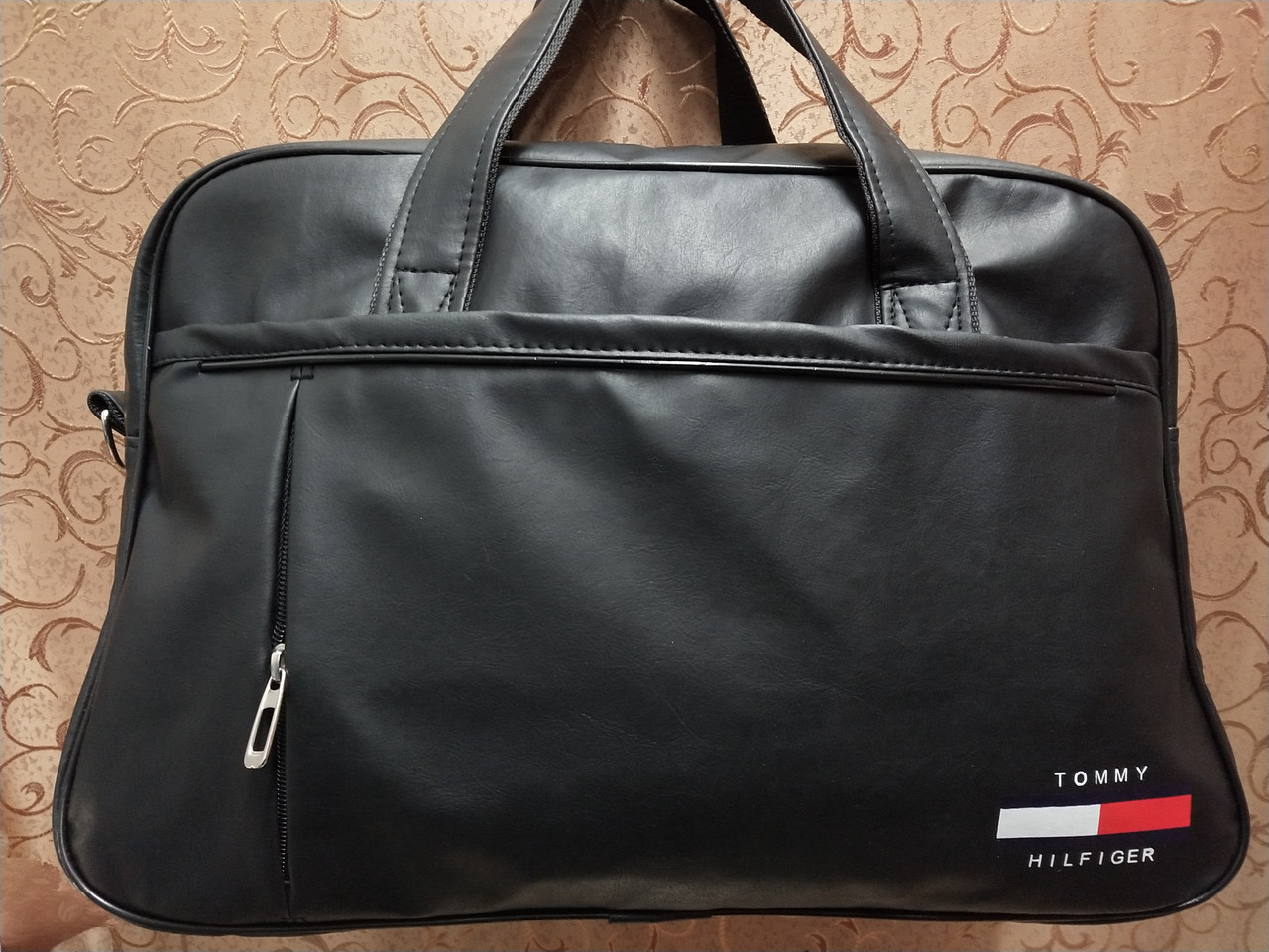 Дорожная спортивная сумка TOMMY  кожаный pu стильный только ОПТ Спортивная сумка
