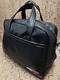 Дорожная спортивная сумка TOMMY  кожаный pu стильный только ОПТ Спортивная сумка, фото 2
