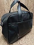 Дорожная спортивная сумка TOMMY  кожаный pu стильный только ОПТ Спортивная сумка, фото 3
