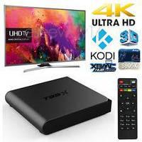 Смарт ТВ Приставка Sunvell T95X 2гб 16Гб Андроид +800 Торрент ТВ + Фильмы Android Smart TV box Смарт Бокс