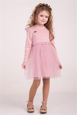 790fbc45b Детское нарядное платье Ангелина Suzie, пудра - Интернет-магазин