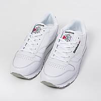 Мужские кроссовки в стиле Reebok Classic Leather (40, 41, 42, 43, 44, 45 размеры)