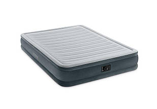 Надувная кровать Intex 67770 с электронасосом (152х203х33)., фото 3