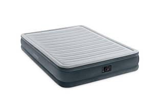 Надувне ліжко Intex 67770 (152х203х33 см.) з електронасосом, фото 3