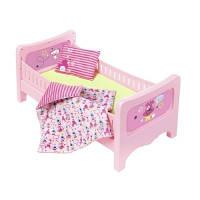 Zapf. Кроватка для куклы BABY BORN - СЛАДКИЕ СНЫ (с постельным набором) (824399)