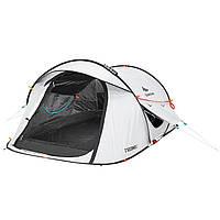 Палатка-автомат двухместная, намет-автомат двомісний Quechua 2 Seconds Easy 2 Fresh & Black