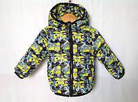 Демисезонная куртке для мальчика 1-4 года  Розница +80гр, фото 1