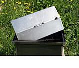 Коптильня черный метал Крышка домиком 520x300x310мм , фото 5