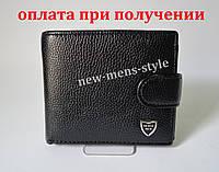 Мужской кожаный стильный кошелек клатч портмоне BENSE MEN новый купить, фото 1