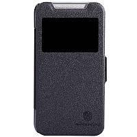 Кожаный чехол книжка Nillkin для HTC Desire 310 черный, фото 1