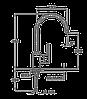 Смеситель TEKA ALAIOR-XL H (ARK 915) хром , фото 2