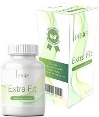 Prof Extra Fit - капсулы для похудения (Проф Экстра Фит), фото 2