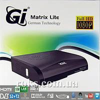 Комбинированный спутниковый/ кабельный/ эфирный ресивер GI Matrix Lite