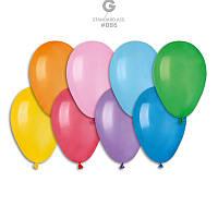 """Ассорти пастель 7"""" (19 см). Купить воздушные шарики оптом"""