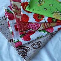 Вафельные полотенца для кухни Украина, отличное качество. Различные расцветки Арт. 401, фото 1