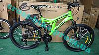 Подростковый горный велосипед 24 дюйма Azimut Power