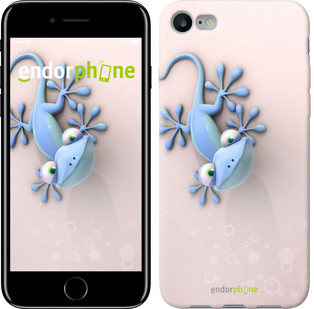 "Чехол на iPhone 7 Гекончик ""1094c-336-571"""